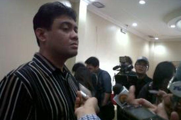 Presiden Konfederasi Serikat Pekerja Indonesia (KSPI) Said Iqbal.