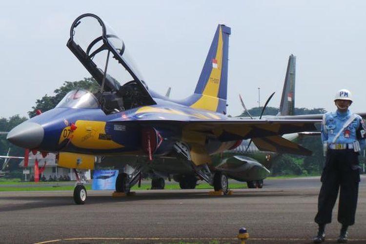 Pesawat tempur T 50i Golden Eagle. Ilustrasi.
