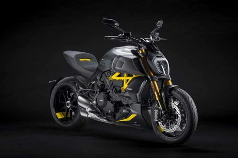 Ducati Diavel Black and Steel Bisa Dipesan, Harga Nyaris Rp 1 M
