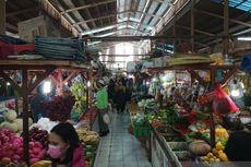 Para Pedagang Pasar Gembrong Tidak Patuhi Aturan Ganjil Genap