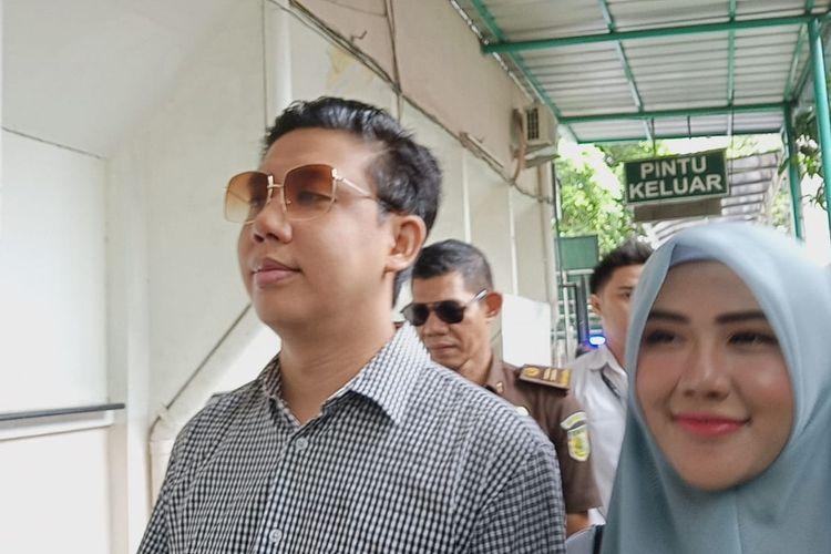 Pablo Benua tiba di Pengadilan Negeri Jakarta Selatan, kawasan Ampera, Rabu (19/2/2020).