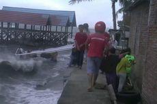 Cuaca Ekstrem di Polewali Mandar, Belasan Rumah Warga dan Perahu Nelayan Rusak