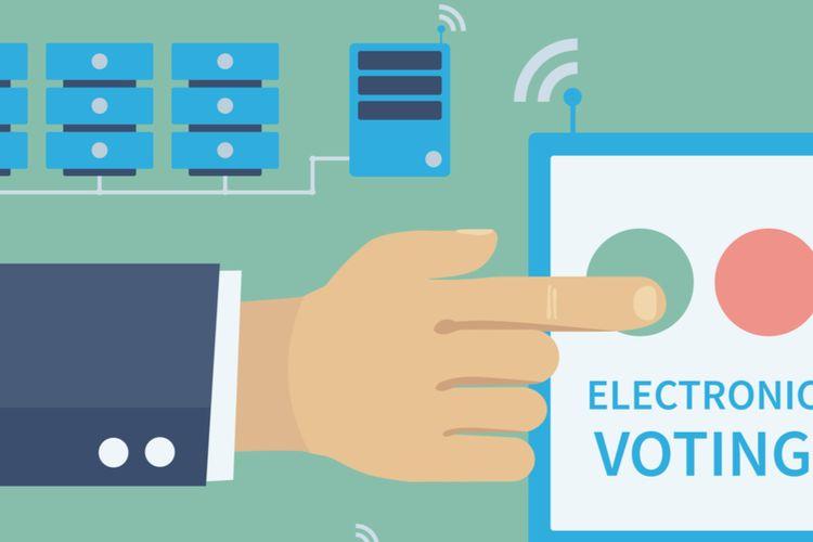 Mendagri Dorong KPU Lakukan Kajian E-Voting, Apa Itu? Halaman all -  Kompas.com