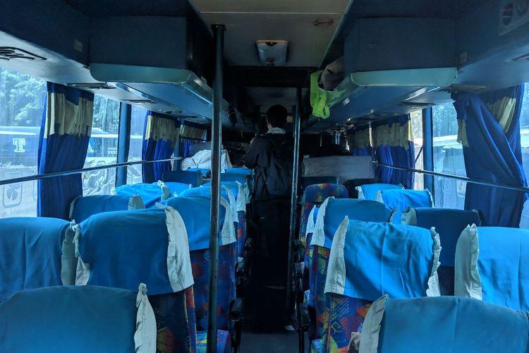 Sopir Bus Tak Tahu 4 Keranjang Buah Dalam Busnya Berisi Ganja