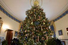 Yuk, Intip Dekorasi Natal di Gedung Putih!