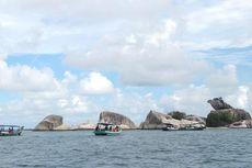 Melihat Kepala Garuda di Tengah Laut Belitung