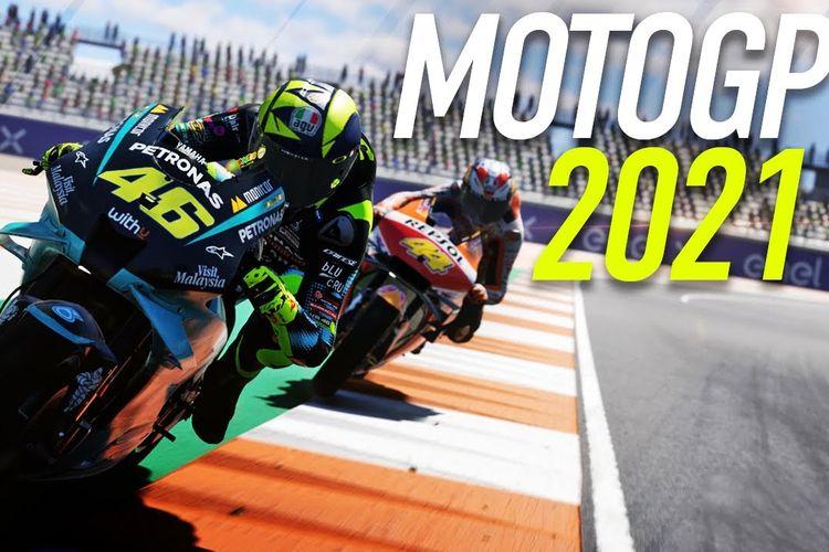 Ilustrasi game MotoGP 2021