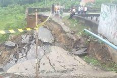 Jalan Pangkal Flyover di Muara Enim Ambles, 4.700 Warga Terancam Terisolasi