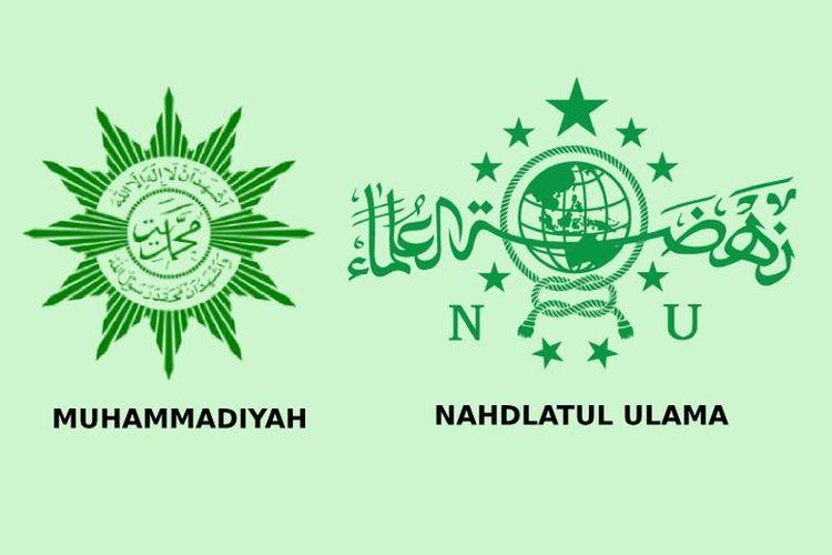 Logo Muhammadiyah dan Nahdlatul Ulama (NU)