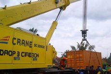 PT KAI Pindahkan 3 Gerbong yang Anjlok di Brebes