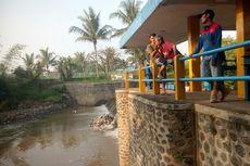 Wartawan Cianjur Terseret Banjir Bandang Saat Mancing, Anak Masih Hilang