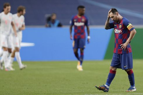 Kata-kata Pertama Presiden Barcelona Usai Dipermalukan Bayern Muenchen di Liga Champions