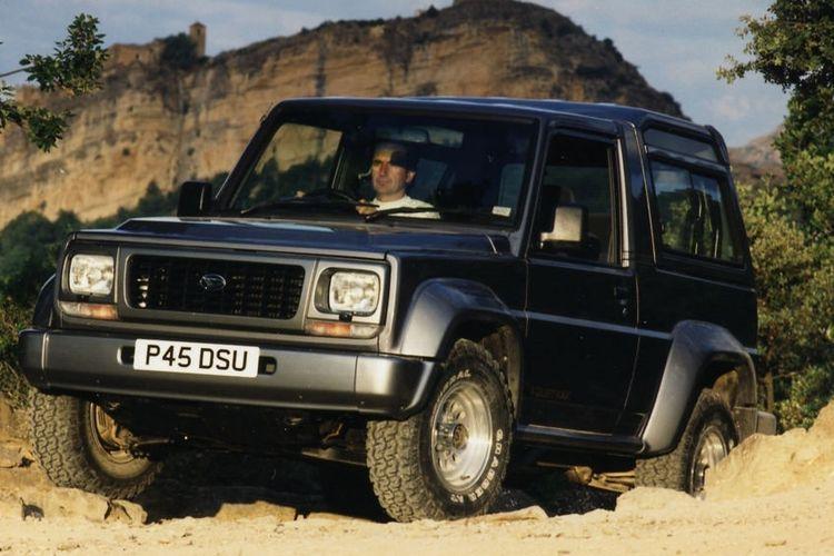 Daihatsu Rocky secara global diproduksi tahun 1984-2002
