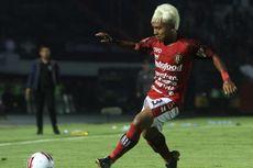 Liga 1 Dihentikan, Begini Cara Winger Bali United Menjaga Kebugaran