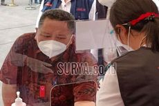 Gara-gara Ngopi, Plt Wali Kota Surabaya Hampir Gagal Divaksin