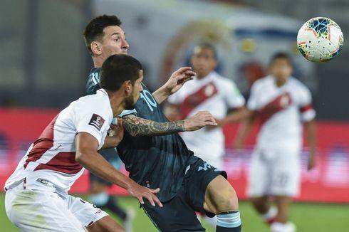 Hasil Peru Vs Argentina - Jaga Keunggulan, La Albiceleste Petik Tiga Poin