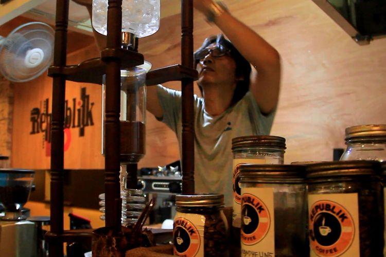 Cold drip menjadi sajian kopi yang paling diminati di Samarinda