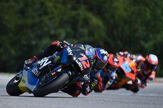 Hasil Moto2 GP Aragon - 2 Anak Didik Rossi Crash, Sam Lowes Juara