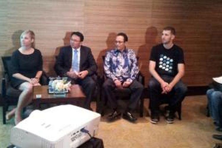 Media Briefing Waze yang dilakukan di Grand Hyatt, Rabu (20/11)