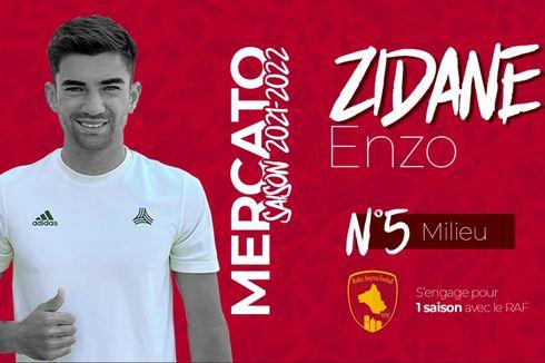 Akhirnya, Anak Zinedine Zidane Punya Klub Baru!