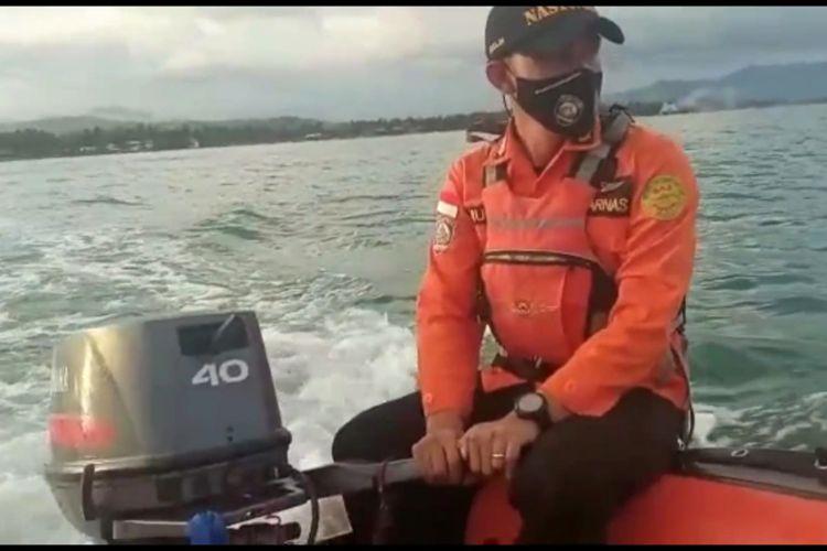 Penumpang Km Prince Soya Terjatuh Ke Laut Tim Rescue Basarnas Mamuju Lakukan Pencarian