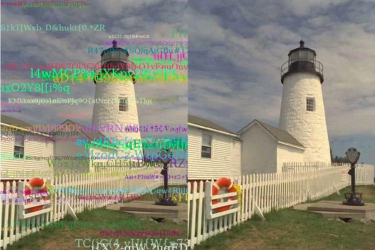Program AI besutan tim peneliti Nvidia dan sejumlah universitas mampu merestorasi foto, termasuk menghilangkan aneka teks.