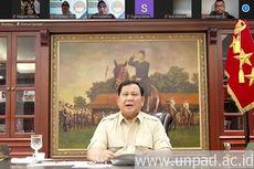 Menhan Prabowo: Ancaman Perang Saat Ini adalah Perang Iptek