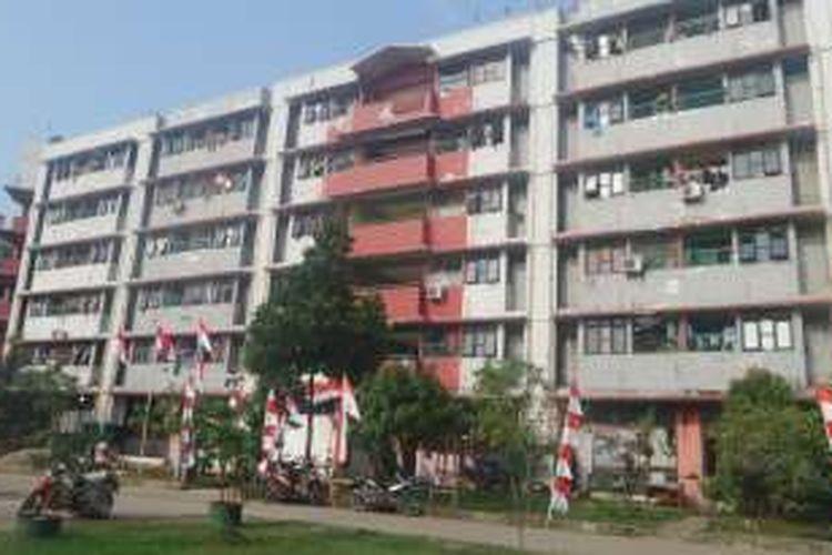 60 KK dari Permukiman Rawajati, Jakarta Selatan akan direlokasi ke Rusun Marunda, Cilincing, Jakarta Utara
