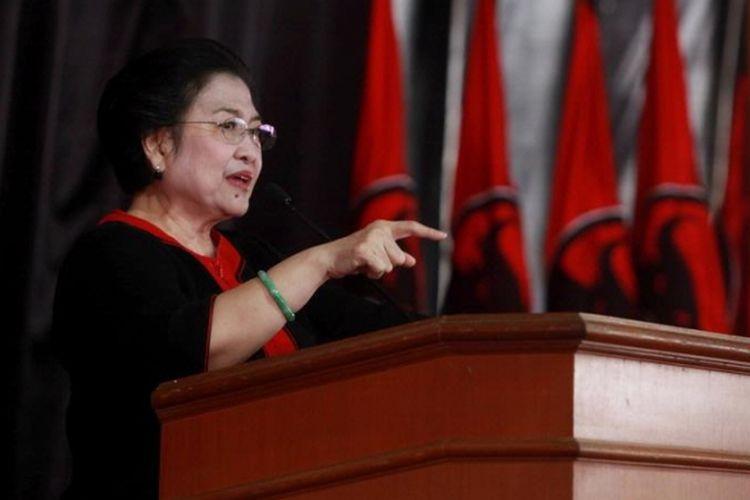 Ketua Umum DPP PDI Perjuangan Megawati Soekarnoputri