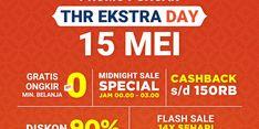 Besok, Nikmati Rangkaian Promo Puncak THR Ekstra Day dari Shopee