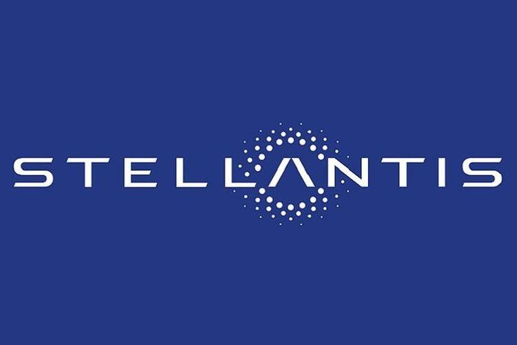 Ilustrasi logo Stellantis
