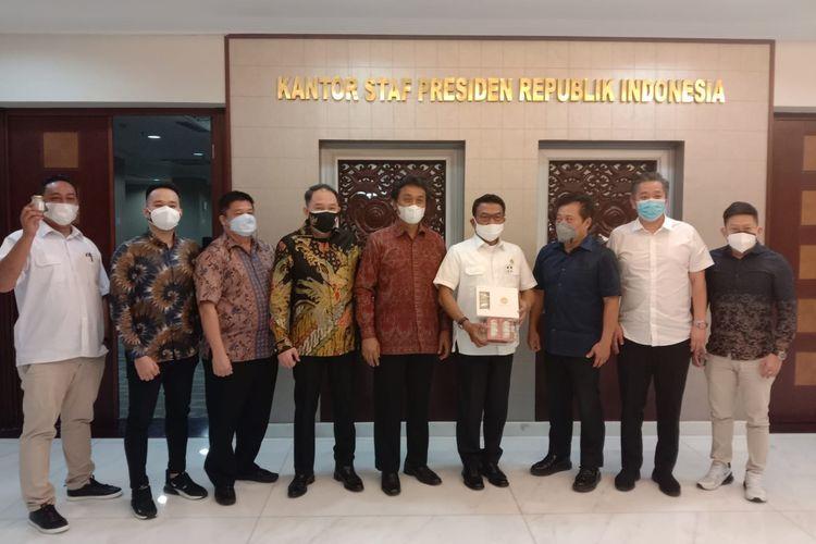 Para eksportir sarang burung walet mengadukan nasib mereka ke Kantor Staf Presiden (KSP).