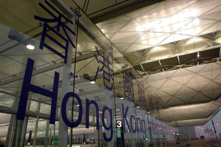 Bandara internasional Hong Kong.