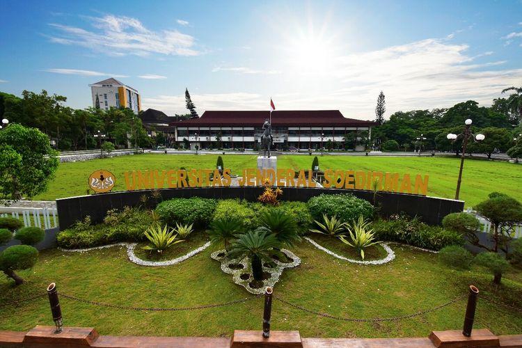 Universitas Jenderal Soedirman (Unsoed) Purwokerto, Jawa Tengah.