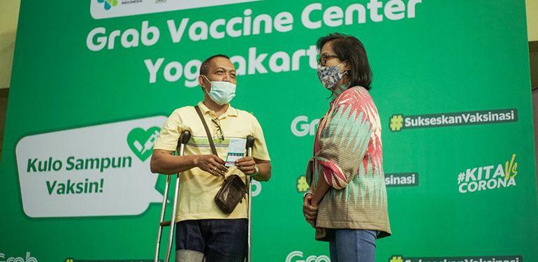 Pulihkan Ekonomi Nasional, Grab Dukung Penuh Program Vaksinasi Covid-19