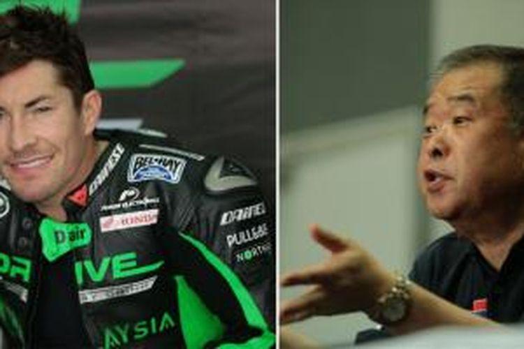 Nicky Hayden tidak puas dengan mesin Honda RCV1000R, Nakamoto berargumen.