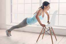 3 Gerakan Olahraga Sederhana di Rumah Bermodal Kursi