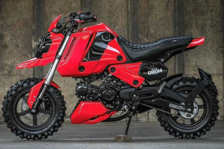 Modifikasi Honda Super Grom