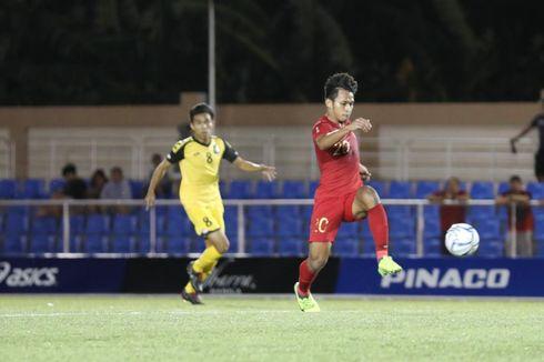 Timnas U-23 Indonesia Vs Brunei, Osvaldo Buat Garuda Muda Unggul