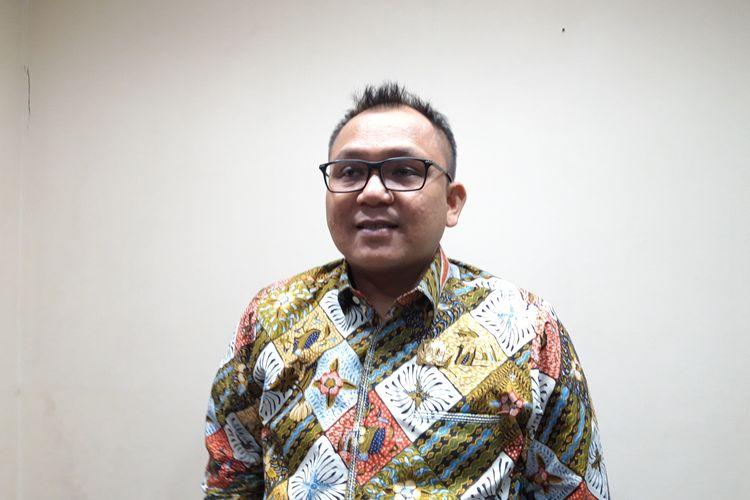 Ketua Fraksi Partai Golkar DPRD DKI Jakarta Basri Baco di Gedung DPRD DKI Jakarta, Jalan Kebon Sirih, Jakarta Pusat, Selasa (3/9/2019).