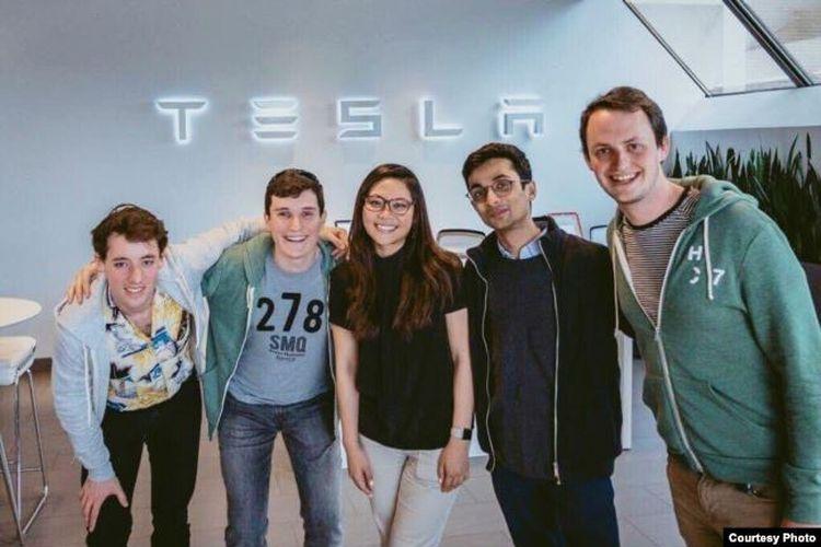 Moorisa Tjokro, salah satu orang Indonesia yang bekerja untuk perusahaan Tesla di California, AS.