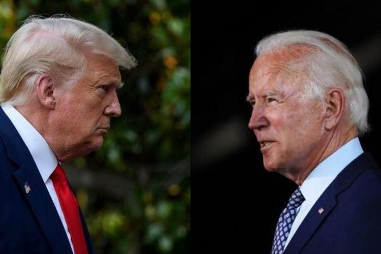Donald Trump dan Joe Biden