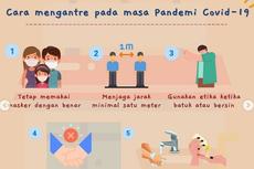 Orangtua, Ajarkan Anak Budaya Mengantre Saat Pandemi dengan Cara Ini