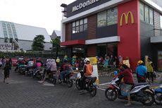 Ada Sarapan Gratis, Begini Suasana Antrean di Gerai McDonald's Otista