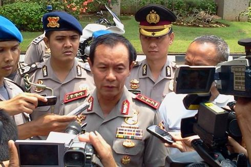 Kapolri Minta Brimob Ikut Fokus Amankan Pemilu 2014