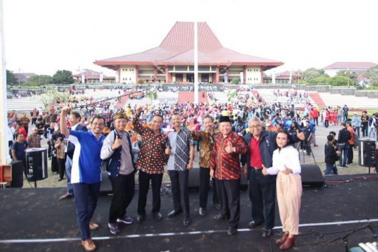 Pekan Seni Mahasiswa Nasional (Peksiminas) yang dilaksanakan tanggal 15-21 Oktober 2018 di Institut Seni Indonesia Yogyakarta.