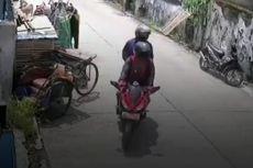 Pengendara Motor Sport yang Curi Kambing di Bekasi Beraksi saat Pemilik Shalat