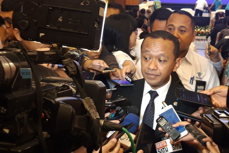 Menteri Investasi Bahlil Lahadalia di Jakarta