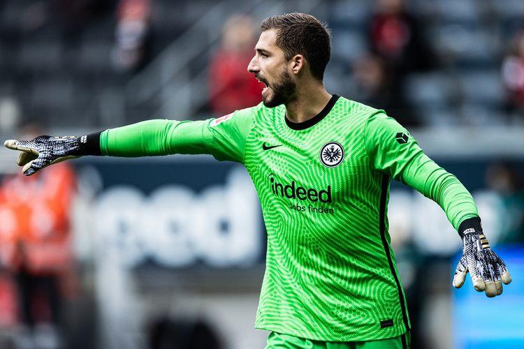 Kiper Jerman yang kini merumput di Bundesliga bersama Eintracht Frankfurt, Kevin Trapp.