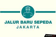 INFOGRAFIK: Jalur Baru Sepeda di Jakarta